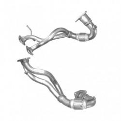 Tuyau d'échappement pour AUDI S3 1.8 1.8T Quattro (moteur : BAM - AMK - AUL)