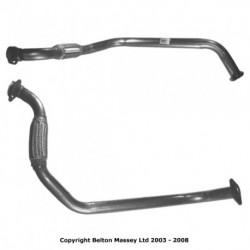 Tuyau d'échappement pour BMW 525d 2.5 E34 TD Break