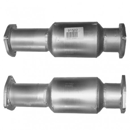 Catalyseur pour CHEVROLET CAPTIVA 2.4 16v (moteur : Z24SED - Catalyseur situé sous le véhicule