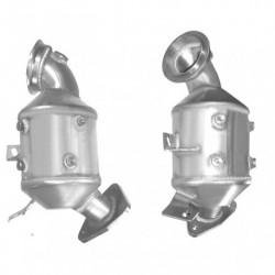 Catalyseur pour PEUGEOT 307SW 1.6 HDi HDi (DV6TED4 - pour véhicules sans FAP)