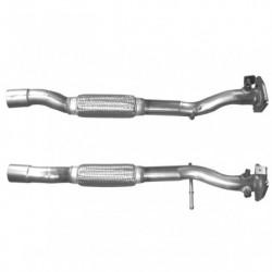 Tuyau d'échappement pour FIAT 500 1.3 MJTD (moteur : 169A1 - tuyau du catalyseur au FAP)