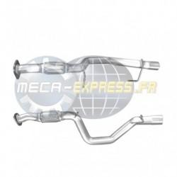 Tuyau d'échappement pour FIAT 500X 1.6 MJTD (moteur : 55260384)