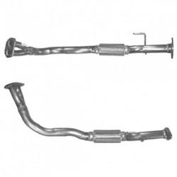 Tuyau d'échappement pour FIAT DOBLO 1.9 Diesel (moteur : 223A6)