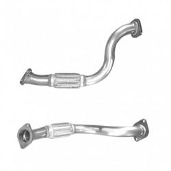 Tuyau d'échappement pour FIAT DUCATO 2.0 MJTD (moteur : 250A1 - 250A2 - 1er tuyau de connexion)