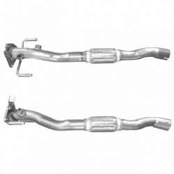 Tuyau d'échappement pour FIAT GRANDE PUNTO 1.3 MJTD (moteur : 199A3 - 1er tuyau de connexion)