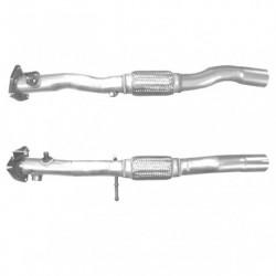 Tuyau d'échappement pour FIAT IDEA 1.3 MJTD (moteur : 199A3 - pour véhicules avec FAP - 1er tuyau de connexion)
