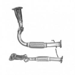 Tuyau d'échappement pour FIAT MULTIPLA 1.6 100 16v (moteur : 182A4)