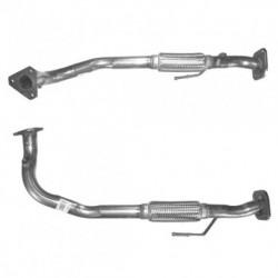 Tuyau d'échappement pour FIAT PUNTO 1.2 60 Selecta Boite auto (moteur : 176A7.000) tuyau flexible simple