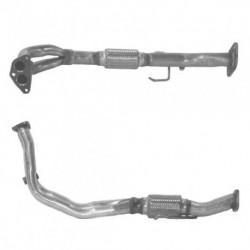 Tuyau d'échappement pour FIAT PUNTO 1.2 60 Selecta Boite auto (tuyau flexible double)