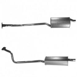 Tuyau d'échappement pour FIAT SCUDO 1.9 Diesel (moteur : WJY)