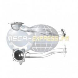Tuyau d'échappement pour FIAT SEDICI 1.6 16V 4X2 et 4X4 (moteur : M16A) 1er tuyau de connexion