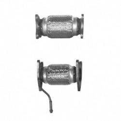 Tuyau d'échappement pour FORD MONDEO 2.5 ST200 V6 24v (moteur : c/p manifold cat-catalyseur situé sous le véhicule)