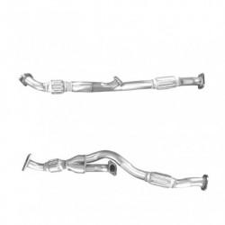 Tuyau d'échappement pour HYUNDAI TUCSON 2.7 V6 Boite manuelle (moteur : G6BA-G) tuyau avant double