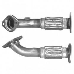 Tuyau d'échappement pour IVECO DAILY 2.3 40C10 Turbo Diesel (ARVIN système)