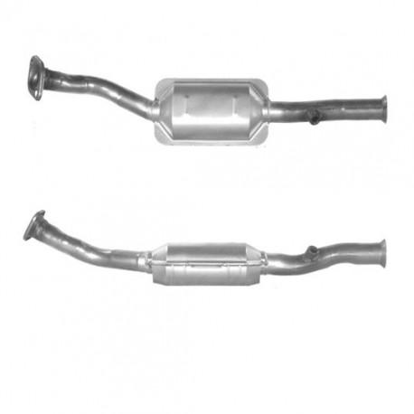 Catalyseur pour CITROEN BERLINGO 1.4 Avec OBD - Catalyseur situé sous le véhicule