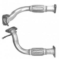 Tuyau d'échappement pour KIA SORENTO 2.5 CRDi Boite manuelle (moteur : D4CB - pour véhicules avec catalyseur)
