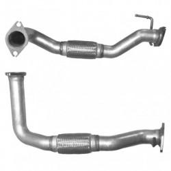 Tuyau d'échappement pour KIA SPORTAGE 2.0 CRDi (moteur : D4EA-V - catalyseur coté FAP tuyau de connexion)