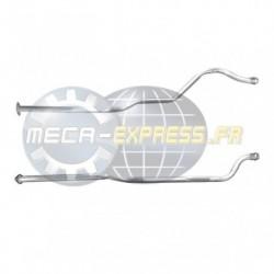 Tuyau d'échappement pour KIA VENGA 1.6 CRDi (moteur : D4FB - 2ème tuyau de connexion)