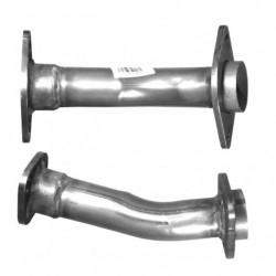 Tuyau d'échappement pour MAZDA 6 2.0 Di (moteur : GG - GY - RF7J - pour véhicules avec FAP - 2ème tuyau flexible)