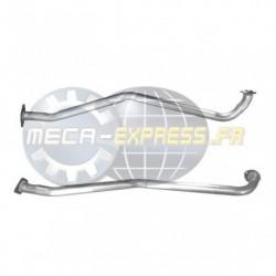 Tuyau d'échappement pour MAZDA 6 2.0 MZR-CD (moteur : GH model - RF7J - pour véhicules avec FAP)