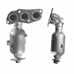 Catalyseur pour CITROEN C1 1.0 12v (moteur : 1KR-FE - Euro 5)