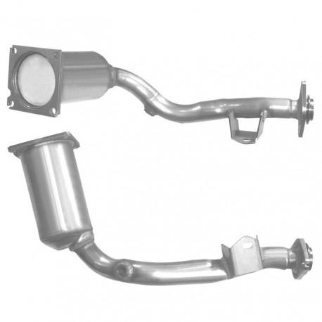 Catalyseur pour CITROEN C3 1.1 Mk.2 8v (moteur : HFV (moteur : TU1A - TU1AE5 - Euro 5)