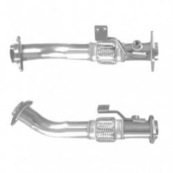 Tuyau d'échappement pour NISSAN NAVARA 2.5 dCi Turbo Diesel (moteur : D40) pour véhicules avec FAP (1er tuyau de connexion)