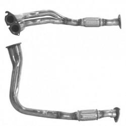 Tuyau d'échappement pour OPEL CAVALIER 1.7 Diesel (y compris turbo)