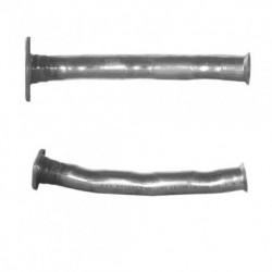 Tuyau d'échappement pour PEUGEOT 206 1.1 (HFY - HFX) 1er tuyau de connexion