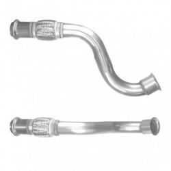 Tuyau d'échappement pour PEUGEOT 307 1.6 HDi extra heating(pour véhicules avec ou sans FAP - 1er tuyau de connexion)
