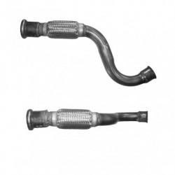 Tuyau d'échappement pour PEUGEOT 308 SW 1.6 HDi (pour véhicules avec ou sans FAP - 1er tuyau de connexion)