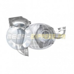Tuyau d'échappement pour PEUGEOT 807 2.0 16v (moteur : EW10A) 1er tuyau de connexion