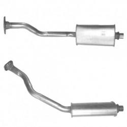 Tuyau d'échappement pour PEUGEOT PARTNER 1.9 Diesel (moteur : DW8B N° de chassis 09065 et suivants)