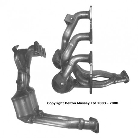 Catalyseur pour ALFA ROMEO GTV 2.0 JTS (moteur : 937A1)