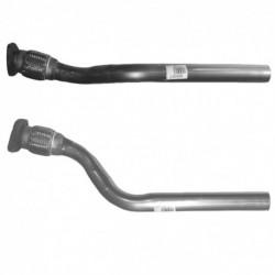 Tuyau d'échappement pour RENAULT GRAND SCENIC 1.9 dCi Turbo Diesel (moteur : F9Q804 - F9Q812)